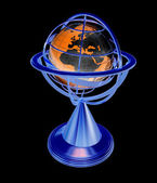 Terrestrial globe model  — Stock Photo