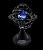 Terrestrial globe model  — Stock Photo