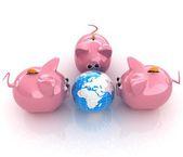 Global saving  — Stock Photo