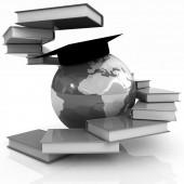 Educación global — Foto de Stock