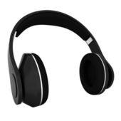 Headphones of carbon material — Foto Stock