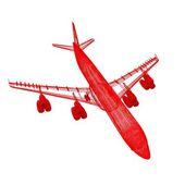 飛行機 — ストック写真
