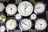 Background from watches — Stock Photo