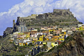Kastell Castelsardo — Stock Photo