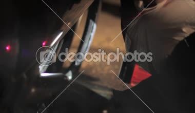 EMS paramedics searching survivors — Stock Video