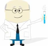 ученый — Cтоковый вектор