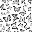 Butterflies seamless pattern — Stock Vector #55842039