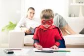 Kreativa superhjälte — Stockfoto