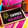 Happy summer holidays card — Stock Photo #51823043