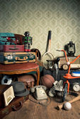 Memories from the attic — Stock Photo