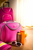 Summer vacations packing — Foto de Stock