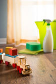 Safe cleaning products — Stock Photo