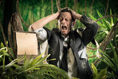 Lost in business jungle — Stock Photo