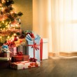 Traditional christmas eve at home — Stock Photo #54012809