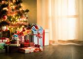 Traditional christmas eve at home — Stock Photo