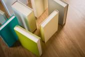Maze of books — Stock Photo