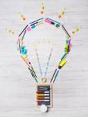 Creative light bulb — Stock Photo