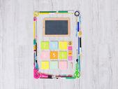 Colorful calculator — Stock Photo