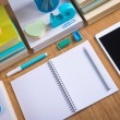 Stationery and student equipment — Stock Photo #54981641