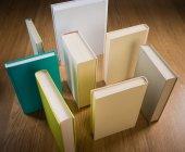 Standing books — Stock Photo