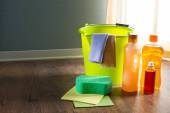 Wood cleaners and detergents — Stock Photo