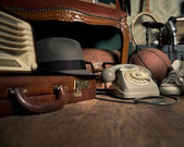 Group of vintage objects — Stock Photo