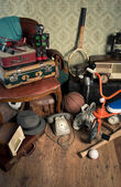 Group of vintage assorted items — Stockfoto