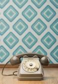 Sztuka telefon na diament tapety — Zdjęcie stockowe