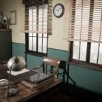 Director's desk and retro items — Stock Photo #56600455