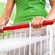 Woman shopping at supermarket — Stock Photo #56614881