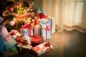 Traditionell julafton hemma — Stockfoto