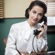 Professional vintage secretary — Stock Photo #59004865