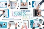 ビジネス チーム作業 — ストック写真