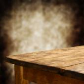 Empty wooden table — Stock Photo