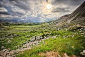 Beautiful Dolomites mountains — Stock Photo