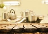 Empty table in the room — Fotografia Stock