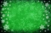 Zelený vánoční pozadí — Stock fotografie