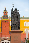 Patriarch Hermogenes monument in Moscow — Stock Photo