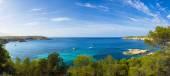 Mediterranean panorama in Ibiza, Balearic islands. — Stock Photo
