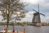 Old historic windmill in the Netherlands — Stock Photo