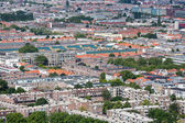 Aerial cityscape residential area of The Hague, The Netherlands — Stock Photo