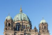 Rooftop of Berliner Dom against a blue sky, Germany — Stock Photo