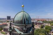 Aerial view from Berliner Dom over the centre of the city Berlin — Stok fotoğraf