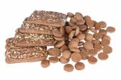 Speculaas and ginger nuts, Dutch sweets — Stock Photo