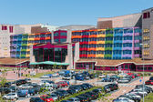 People visiting the new modern Isala Hospital in Zwolle, The Netherlands — Stock Photo