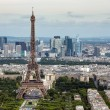View of Paris with Eiffel Tower from Montparnasse building — Stock Photo #77667822