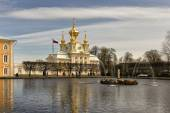 Russia. Peterhof (Palace and Park ensemble. — Stock Photo