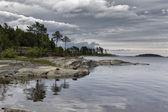 Karelia. Ladoga skerries — Stock Photo