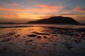Gündoğumu veya günbatımı — Stok fotoğraf