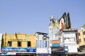 A typical asian street's buildings, Colombo,Sri Lanka — Stock Photo